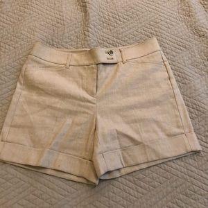 """Shimmering linen 5"""" shorts"""